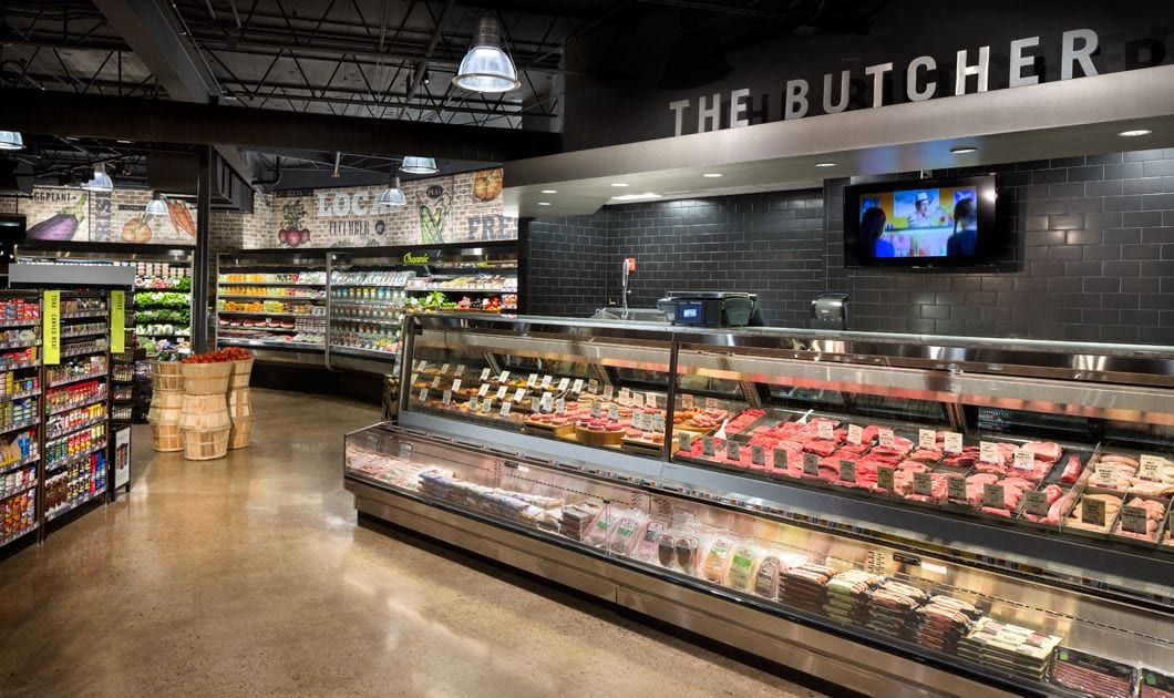Supermarket and Grocery Store Digital Signage