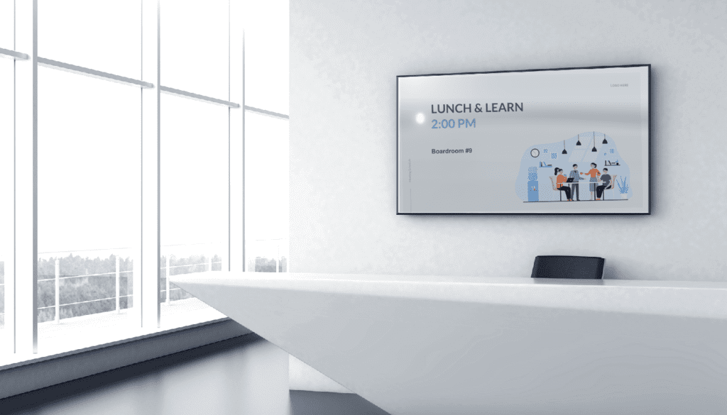 corporate franchise digital signage templates for internal communications free
