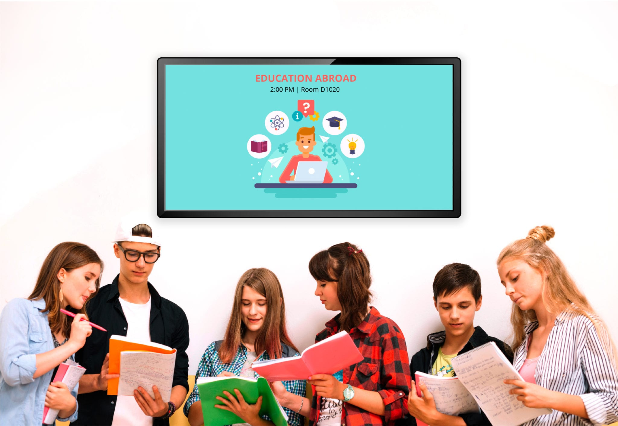 Back in Class: 7 Great Ways to Use Digital Signage for Schools