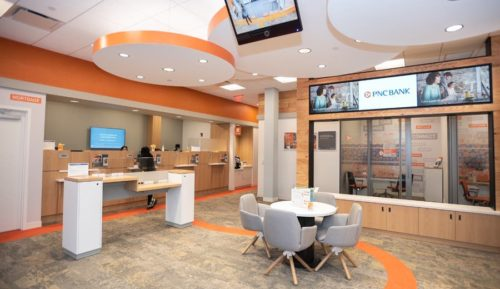 bank digital signage solutions financial