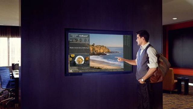 lobby digital signage cloud-based software business